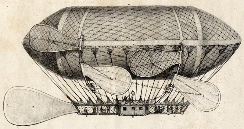 ballon dirigeable ancien